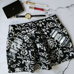 Nanette Lapore Patterned Skirt